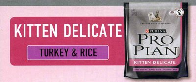 Purina Pro Plan Kitten Delicate with Turkey&Rice