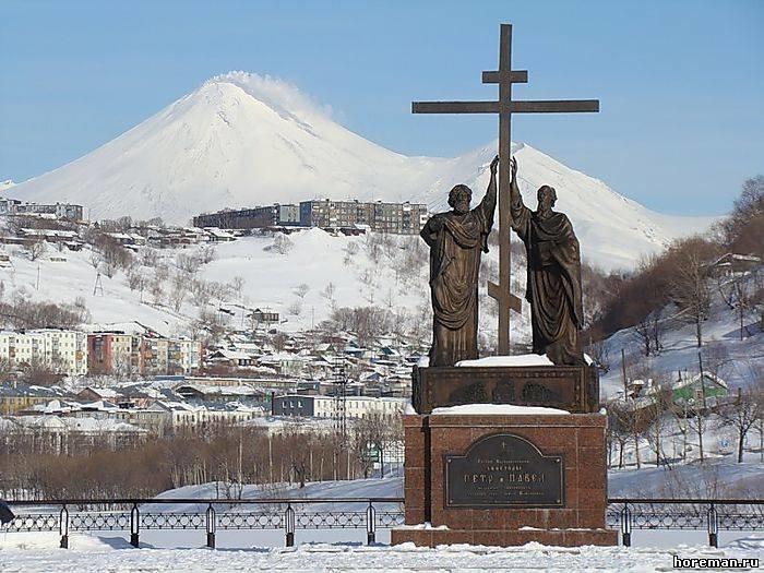 Петропавловск-Камчатский! Орел и решка!